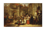 Coming of Age in the Olden Time, 1849 Giclee Print by William Powell Frith