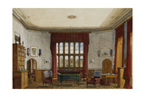 An Interior of a Room, Christ Church, Oxford Giclee Print by George Pyne