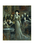 Le Lettre Giclee Print by Jean Louis Forain
