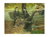 In the Park Giclee Print by Arthur Clifton Goodwin