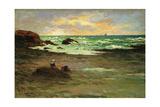 A Corner of the Beach at Concarneau; Un Coin De Plage a Concarneau, 1887 Giclee Print by Claude Emile Schuffenecker