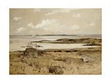 Gloucester Coast Giclee Print by John Henry Twachtman