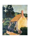 Devon Cottage, C.1920-24 Giclee Print by Robert Polhill Bevan