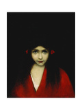 Head of a Girl Giclee Print by Jean-Jacques Henner