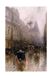 Piccadilly, London Giclee Print by Paolo Sala