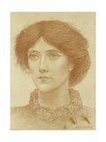 Portrait of Mrs Wheeler, Bust Length Giclee Print by Henry Holiday