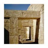 Relief at Medinet Habu Giclee Print