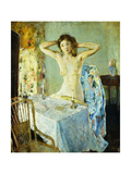 The Dressing Table Giclee Print by Charles Webster Hawthorne