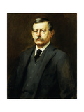 Portrait of Patterson, 1895 Giclee Print by Willard Leroy Metcalf