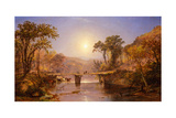 Indian Summer on the Delaware River, 1862 Giclee Print by Jasper Francis Cropsey