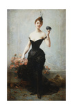 The Masked Ball Giclee Print by Jules Frederic Ballavoine