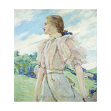 A Breezy Day, C.1898 Giclee Print by Robert Reid