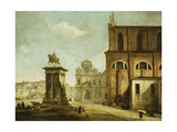 Campo Ss Giovanni E Paolo, Venice Giclee Print by Michele Marieschi