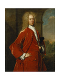 Portrait of Colonel William Forward, M.P., Three-Quarter Length, in a Red Coat and Waistcoat and… Giclee Print by Charles Jervas