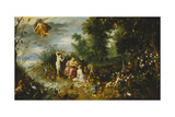 The Four Elements Giclee Print by  Jan II Brueghel and Hendrik van Balen