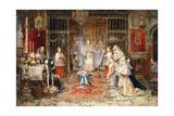 Celebrating Santa Maria Della Rosa Giclee Print by Jose Benlliure Y Gil