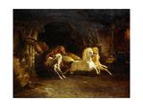 Duncan's Horses, 1842 Giclee Print by John Frederick Herring Snr