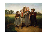 The Secret, 1855 Giclee Print by William Frederick Witherington