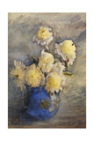 Peonies in a Blue Vase, 1899 Giclee Print by Rose Maynard Barton