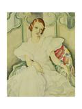Portrait of a Lady, Half Length Giclee Print by Gerda Marie Frederike Wegener