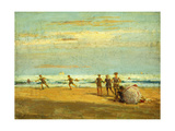 By the Seaside Giclee Print by Frederick John Mulhaupt