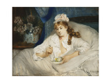 Waking Up; Le Reveil, 1885 Giclee Print by Pierre Carrier-belleuse