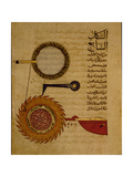 "Miniature from a Mamluk Copy of the ""Automata of Al Jaziri"" or the ""Book of Knowledge of… Giclee Print"