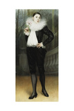 Pierrot Giclee Print by Pierre Carrier-belleuse