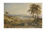 Lancaster, 1852 Giclee Print by George Arthur Fripp