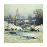Central Park Giclee Print by Colin Campbell Cooper