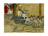 Chips Off the Old Block; the York Stage Coach Giclee Print by Cecil Charles Windsor Aldin