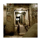 View of the Hallway Leading to the Tomb (Kv 9) of Ramesses Vi Giclee Print