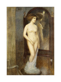 A Nude at the Mirror Giclee Print by Louis Picard