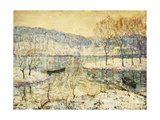 Winter Stream Giclee Print by Ernest Lawson
