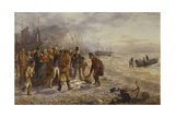 The Auction, 1864 Giclee Print by Charles Green