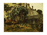 Lilac Time, C.1884 Giclee Print by Childe Hassam
