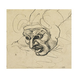 A Threatening Head Giclee Print by Henry Fuseli