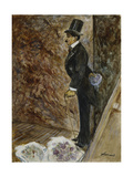 Behind the Stage; Dans Les Coulisses, 1878 Giclee Print by Jean Louis Forain