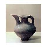 Unglazed Jug That Resembles in Form an Oinochoe Giclee Print