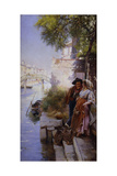 The Fisherman's Courtship, 1898 Giclee Print by Henry Woods