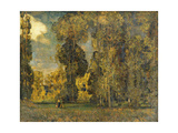 September Landscape Giclee Print by Sir Alfred East