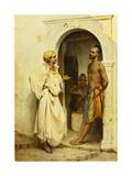 Flirtation Giclee Print by Jean Raymond Hippolyte Lazerges
