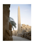 The Obelisk of Tuthmosis I Seen from the West Giclee Print