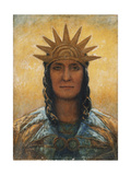 Archangel Giclee Print by George William Russell