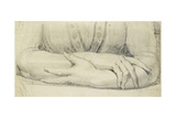 Study of a Woman's Gloved Arms, 1798 Giclee Print by Henry Fuseli