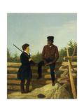 Which Way Shall We Go James Goodwyn Clonney (1812-1867), 1850 Giclee Print by James Goodwin Clonney