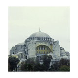 An Exterior View of Hagia Sophia, Istanbul Which Was Built by Emperor Justinian Giclee Print