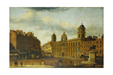 Old Northumberland House, Charing Cross Giclée-tryk af John Paul