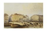 Ferdinandbrucke Giclee Print by Rudolph von Alt