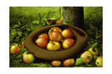 Apples in a Hat Giclee Print by Levi Wells Prentice